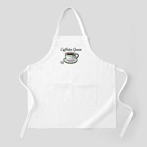 Caffeine Queen BBQ Apron