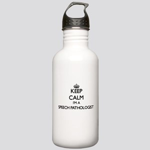 Keep calm I'm a Speech Stainless Water Bottle 1.0L