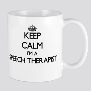 Keep calm I'm a Speech Therapist Mugs
