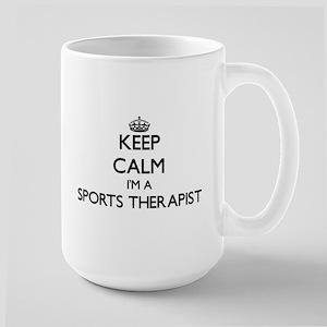 Keep calm I'm a Sports Therapist Mugs