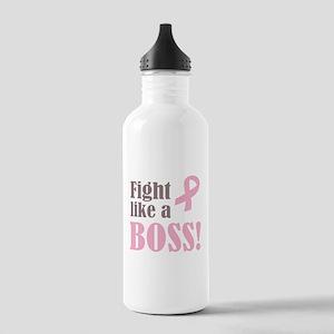 Fight Like A Boss Water Bottle