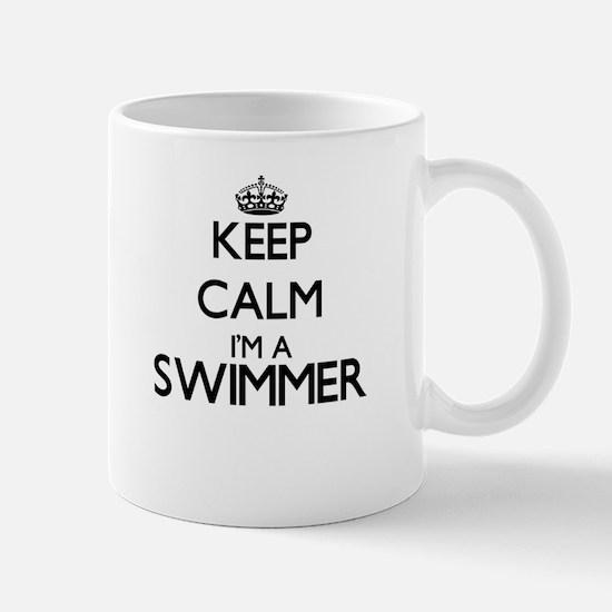 Keep calm I'm a Swimmer Mugs