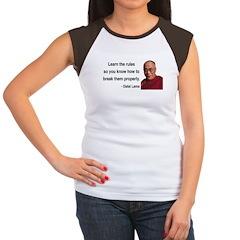 Dalai Lama 11 Women's Cap Sleeve T-Shirt