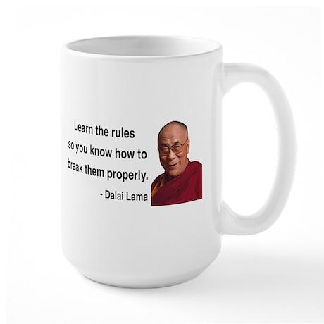 Dalai Lama 11 Large Mug