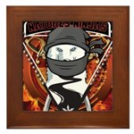 Natures Ninjas Emblem Framed Tile