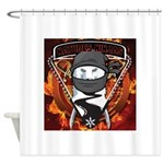 Natures Ninjas Emblem Shower Curtain