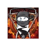Natures Ninjas Emblem Sticker