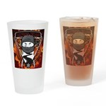 Natures Ninjas Emblem Drinking Glass
