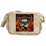 Natures Ninjas Emblem Messenger Bag