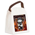 Natures Ninjas Emblem Canvas Lunch Bag