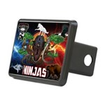Natures Ninjas Fire & Ice Hitch Cover