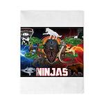 Natures Ninjas Fire & Ice Twin Duvet