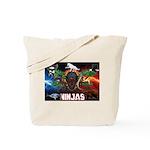 Natures Ninjas Fire & Ice Tote Bag