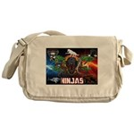 Natures Ninjas Fire & Ice Messenger Bag