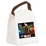 Natures Ninjas Fire & Ice Canvas Lunch Bag