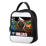 Natures Ninjas Fire & Ice Neoprene Lunch Bag