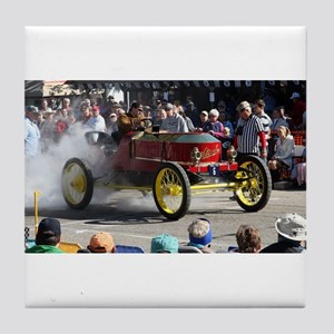Stanley Steamer Tile Coaster