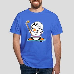 Ice Hockey Penguin Dark T-Shirt