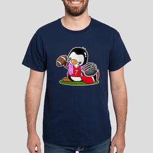 Football Penguin Dark T-Shirt