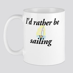 I'd rather be sailing - Mug