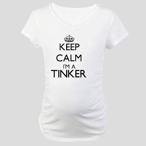 Keep calm I'm a Tinker Maternity T-Shirt