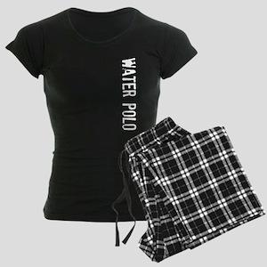 Water Polo Stamp Women's Dark Pajamas