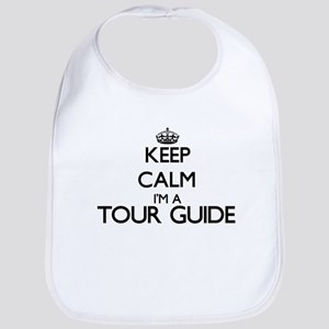Keep calm I'm a Tour Guide Bib