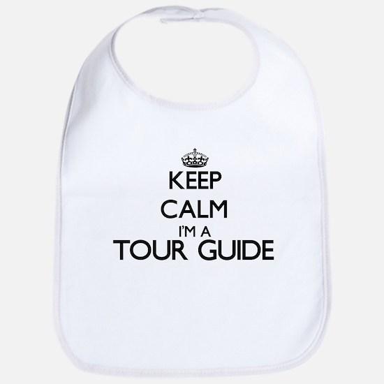 Keep calm I'm a Tour Guide Bib