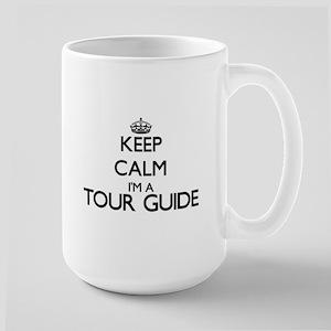 Keep calm I'm a Tour Guide Mugs
