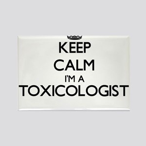 Keep calm I'm a Toxicologist Magnets