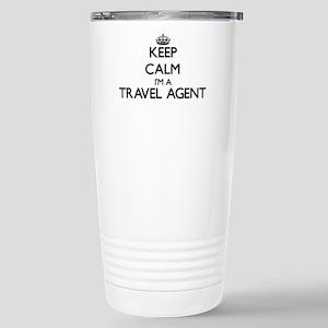 Keep calm I'm a Travel Stainless Steel Travel Mug