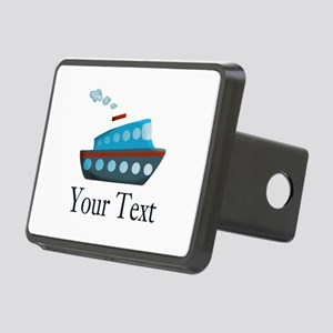 Personalizable Cruise Ship Hitch Cover