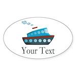 Personalizable Cruise Ship Sticker
