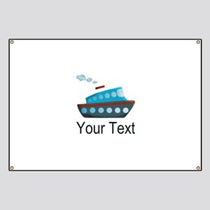 Personalizable Cruise Ship Banner