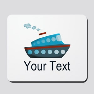 Personalizable Cruise Ship Mousepad