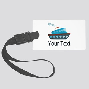 Personalizable Cruise Ship Luggage Tag
