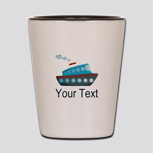 Personalizable Cruise Ship Shot Glass