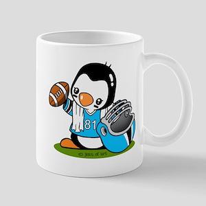 Football Penguin Mug Mugs