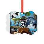 Natures Ninjas In The Seasons Ornament