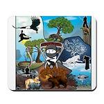 Natures Ninjas In The Seasons Mousepad