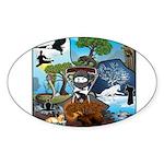 Natures Ninjas In The Seasons Sticker