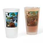 Natures Ninjas In The Seasons Drinking Glass