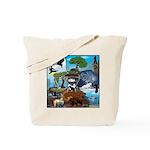 Natures Ninjas In The Seasons Tote Bag