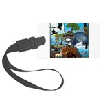 Natures Ninjas In The Seasons Luggage Tag