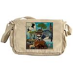 Natures Ninjas In The Seasons Messenger Bag