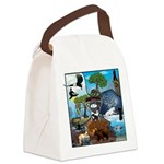 Natures Ninjas In The Seasons Canvas Lunch Bag