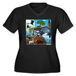 Natures Ninjas In The Seasons Plus Size T-Shirt