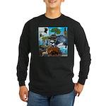 Natures Ninjas In The Seasons Long Sleeve T-Shirt