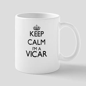Keep calm I'm a Vicar Mugs