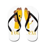 Personalizable Little Lion Flip Flops